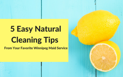 5 Easy Natural Cleaning Tips
