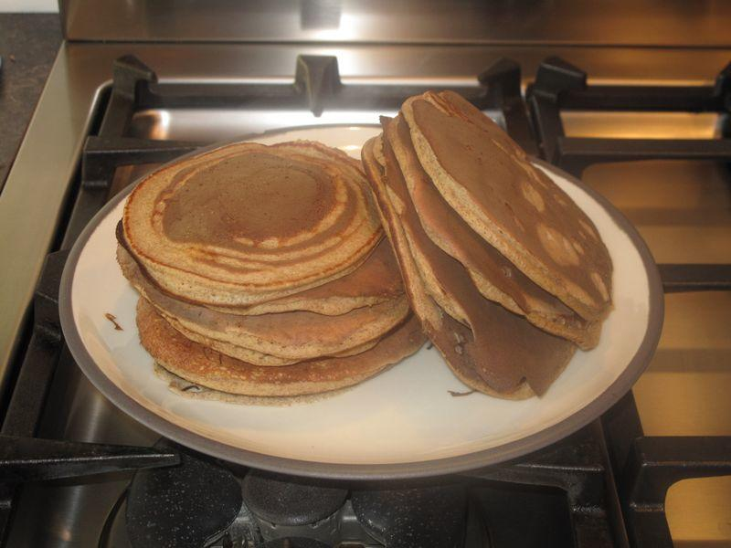Clean Eating No Wheat Pancakes