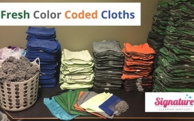 Fresh Color Coded Cloths