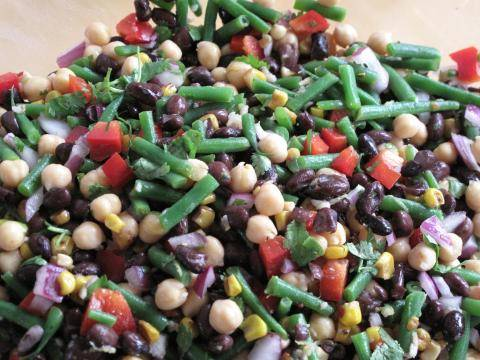 One Clean Bean Salad