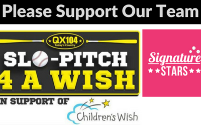 Our Slo-Pitch 4 A Wish Team – Signature Stars