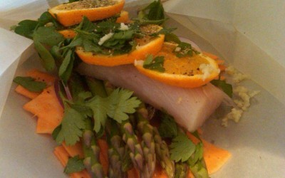 From the Clean Eating Kitchen: Mahi Mahi En Papillote
