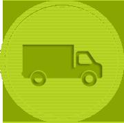 Greem Moving Truck
